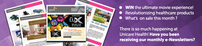Unicare Health eNewsletter Banner