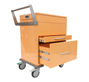 Unicare Health provides Sir Charles Gardner Hospital with top loading hospital record carts