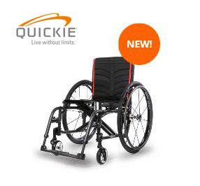 Quickie® 2 lightweight folding manual wheelchair