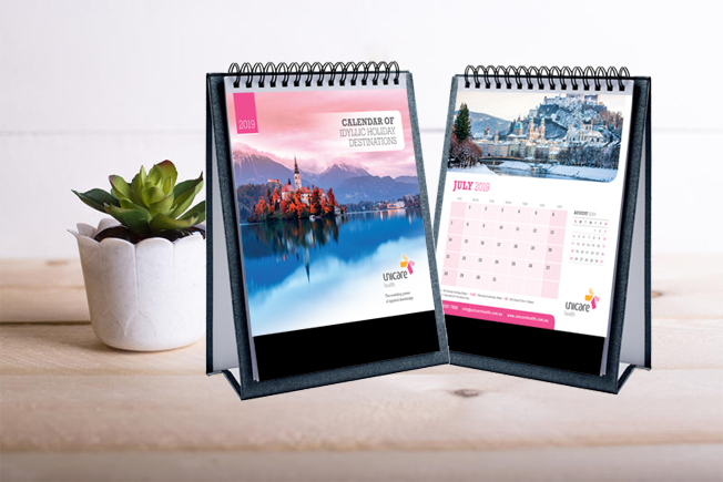 Unicare Health 2019 Calendar