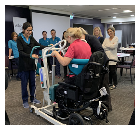 Hall & Prior Aged Care partners with Unicare Health to deliver updated manual handling training for leaders.