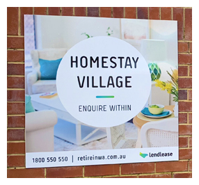 Lend Lease Homestay Village invites Unicare Health to put up aged care equipment display for their residents