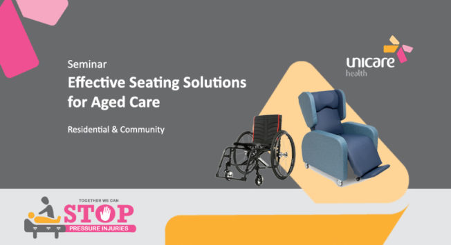 Seminar: Effective Seating Solutions for Aged Care