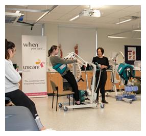 Edith Cowan University Unicare Health Hoist Training