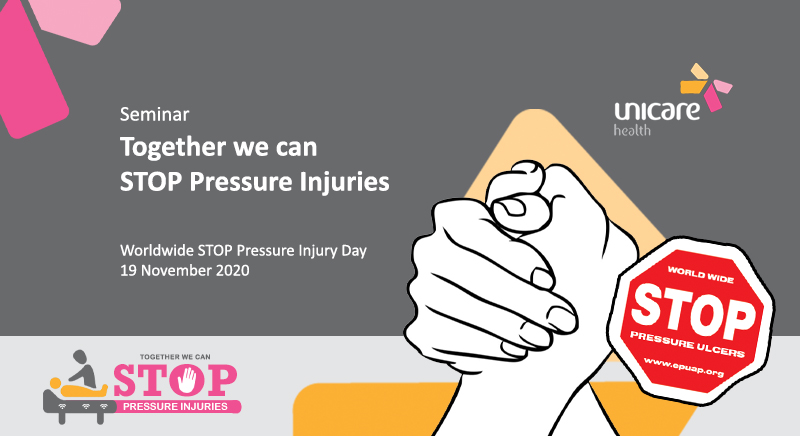 Together we can STOP Pressure Injuries