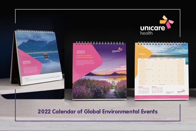 Unicare Health 2022 Desk Calendar - Don't miss out!